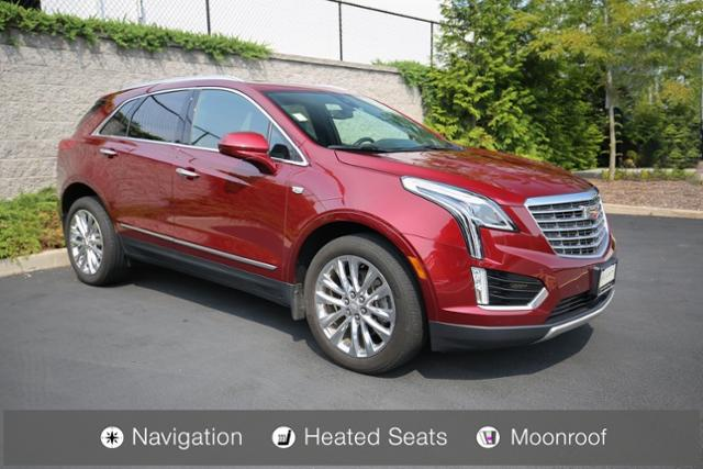 Pre Owned 2017 Cadillac Xt5 Sport Utility In Ridgefield Br18870a
