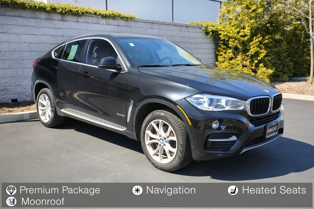 Certified Pre-Owned 2016 BMW X6 xDrive 35i