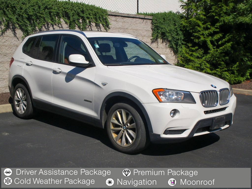 <center><b>Pre-Owned 2014 BMW X3 xDrive28i</b></center>