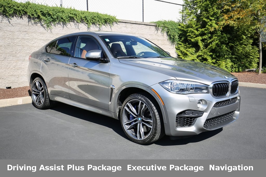 Certified Pre-Owned 2017 BMW X6 M Sports Activity Coupe