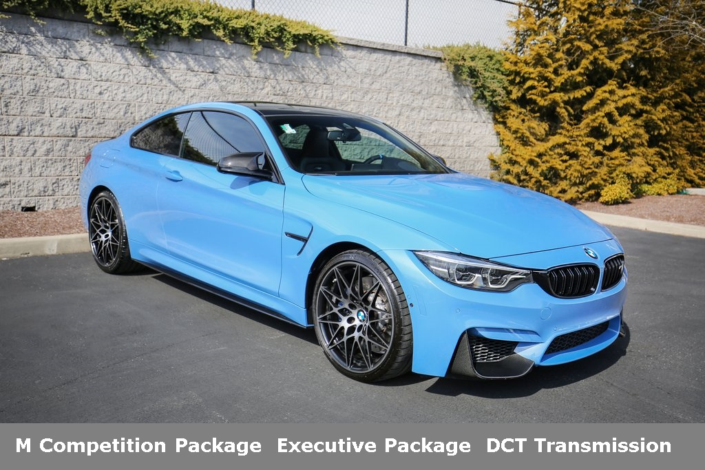 Certified Pre-Owned 2018 BMW M4 Coupe