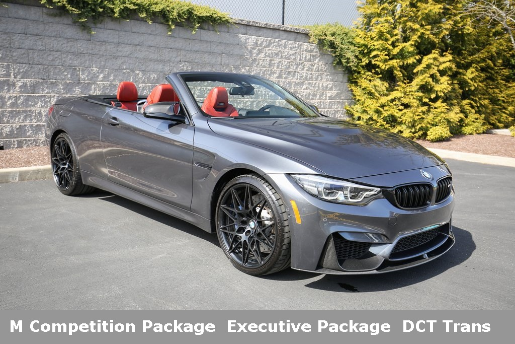 Pre-Owned 2018 BMW M4 Convertible