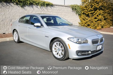 Pre-Owned 2015 BMW 5 Series 4dr Sdn 535i xDrive AWD