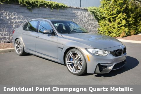 Certified Pre-Owned 2016 BMW M3 Sedan