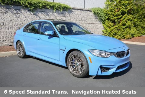 Certified Pre-Owned 2017 BMW M3 Sedan